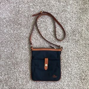 Vintage Dooney & Bourke Nylon Leather Crossbody